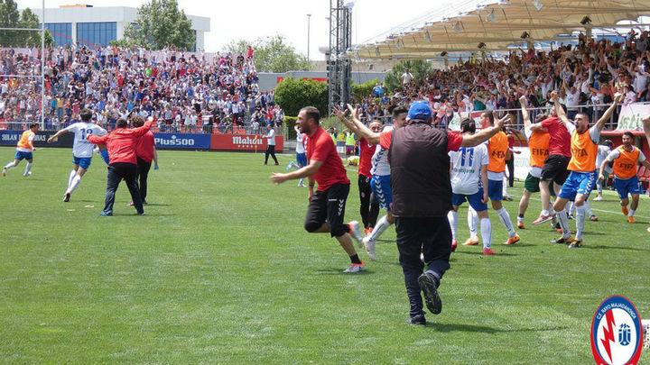 1-0. El Rayo Majadahonda consigue un ascenso histórico a Segunda