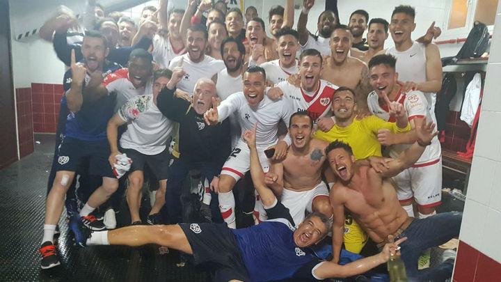1-0. El Rayo Vallecano regresa a Primera