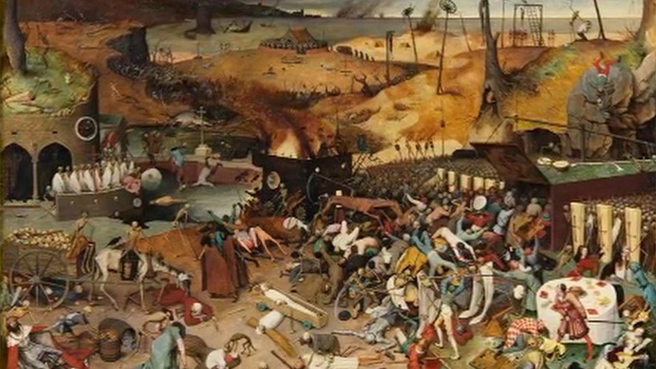 """""""El triunfo de la Muerte"""", de Brueghel El Viejo, se puede ver ya restaurado en el Prado"""