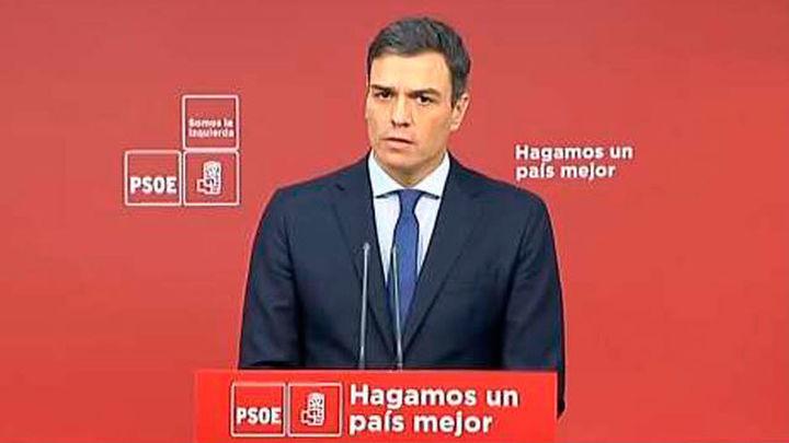 """Sánchez tiende la mano para un """"gran acuerdo nacional de regeneración"""""""