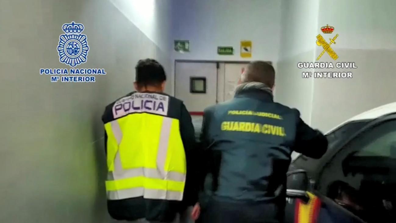 Triple detención en Madrid durante el fin de semana