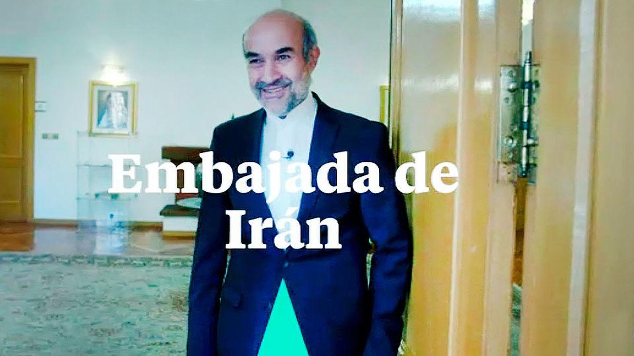 Madrid, la ciudad de cien países visita la Embajada de Irán