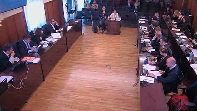 Imagen del juicio por los ERE