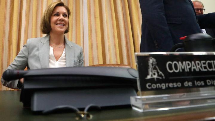 Cospedal niega que cobrara sobresueldos y amenaza al PSOE con querellarse por acusarla