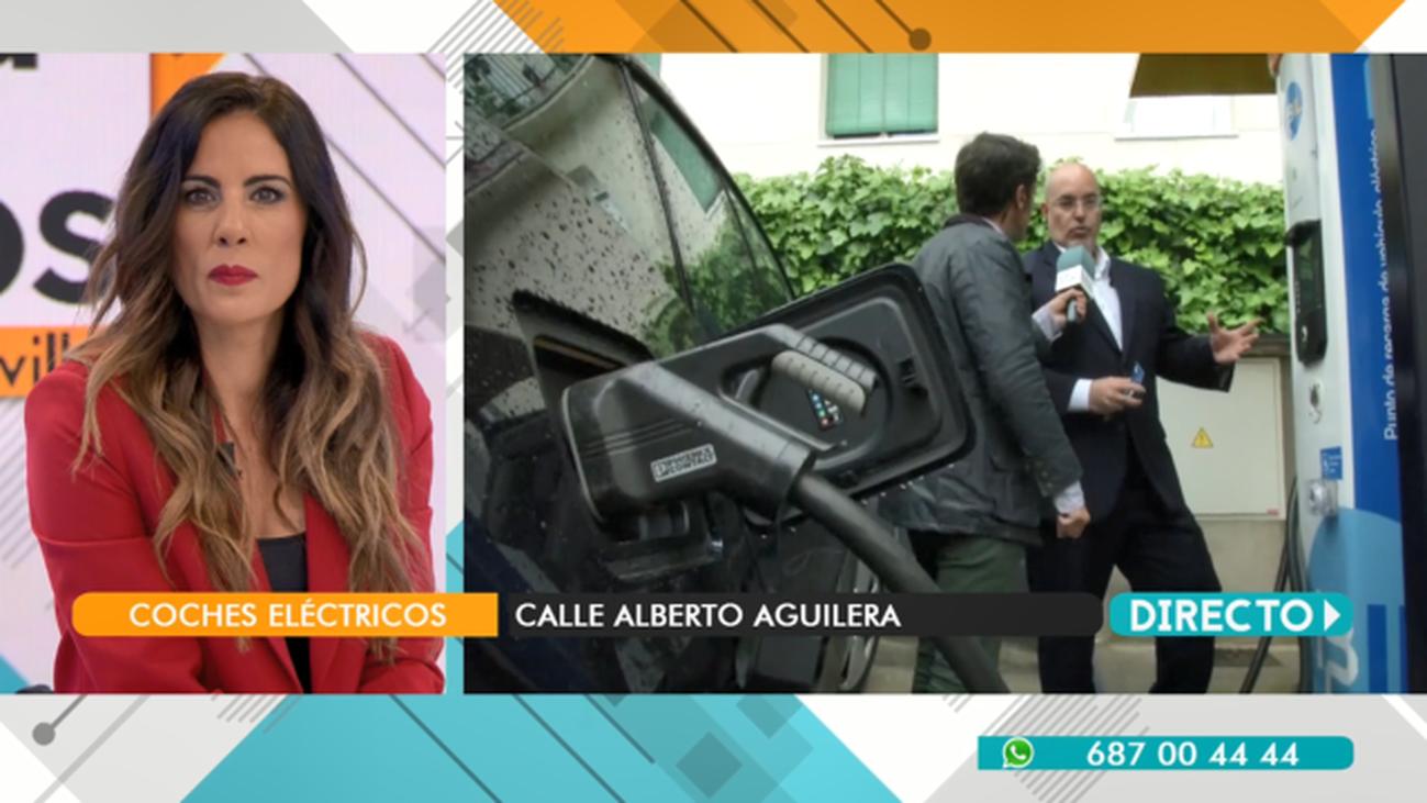 """Arturo Pérez, dueño de un automóvil eléctrico: """"cargar el coche me cuesta 23 euros al mes"""""""