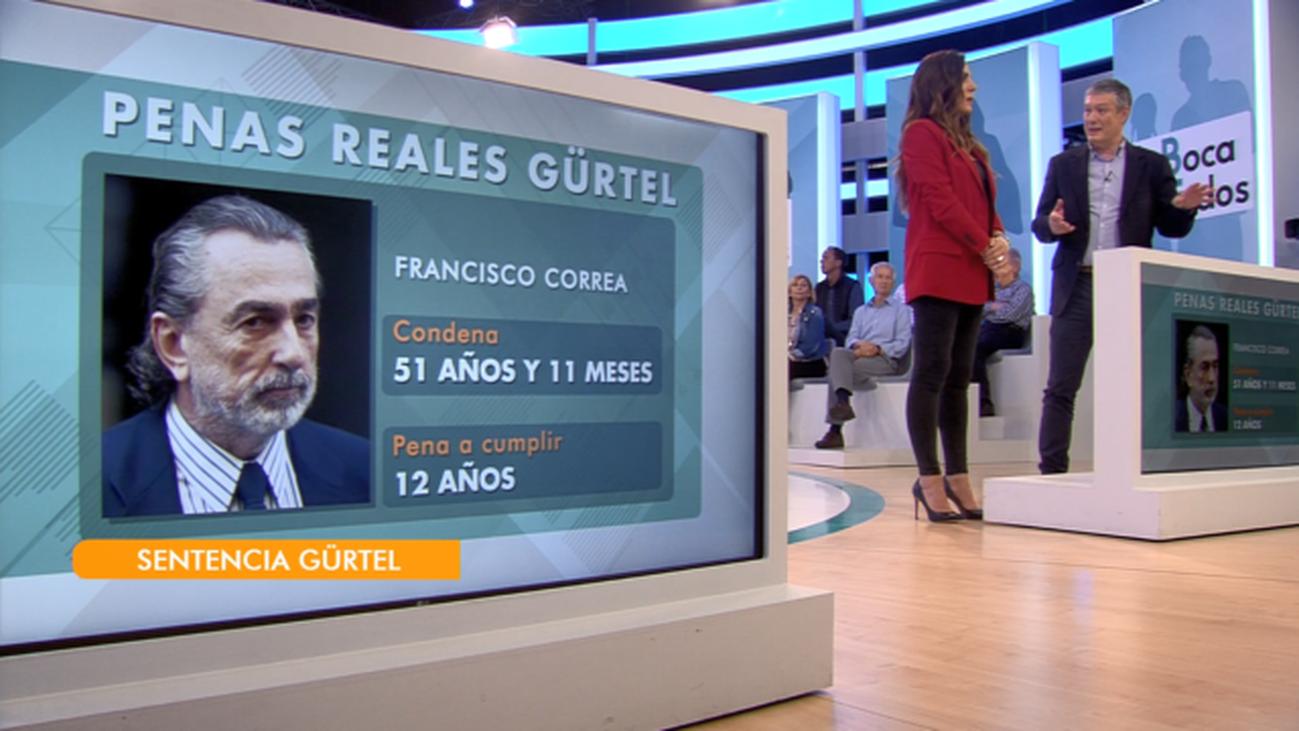 """Las penas reales del """"caso Gürtel"""", a análisis"""