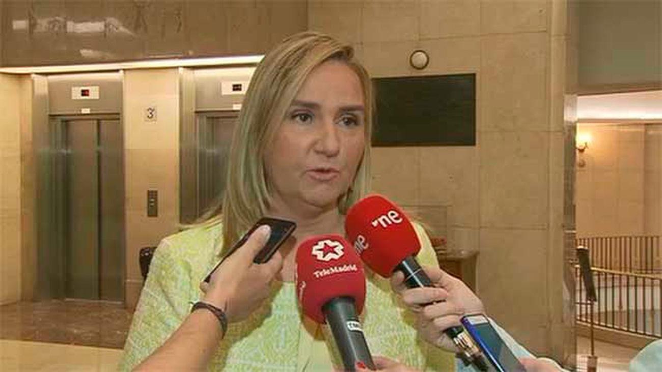Rosalía Gonzalo. consejera madrileña de Transportes, Infraestructuras y Vivienda