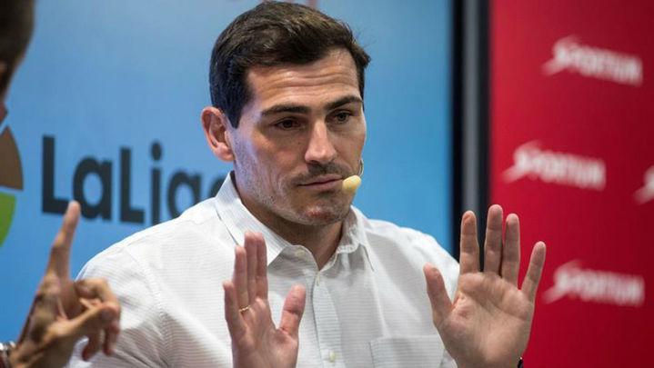 """Casillas: """"A día de hoy no cambio a Cristiano por nadie"""""""