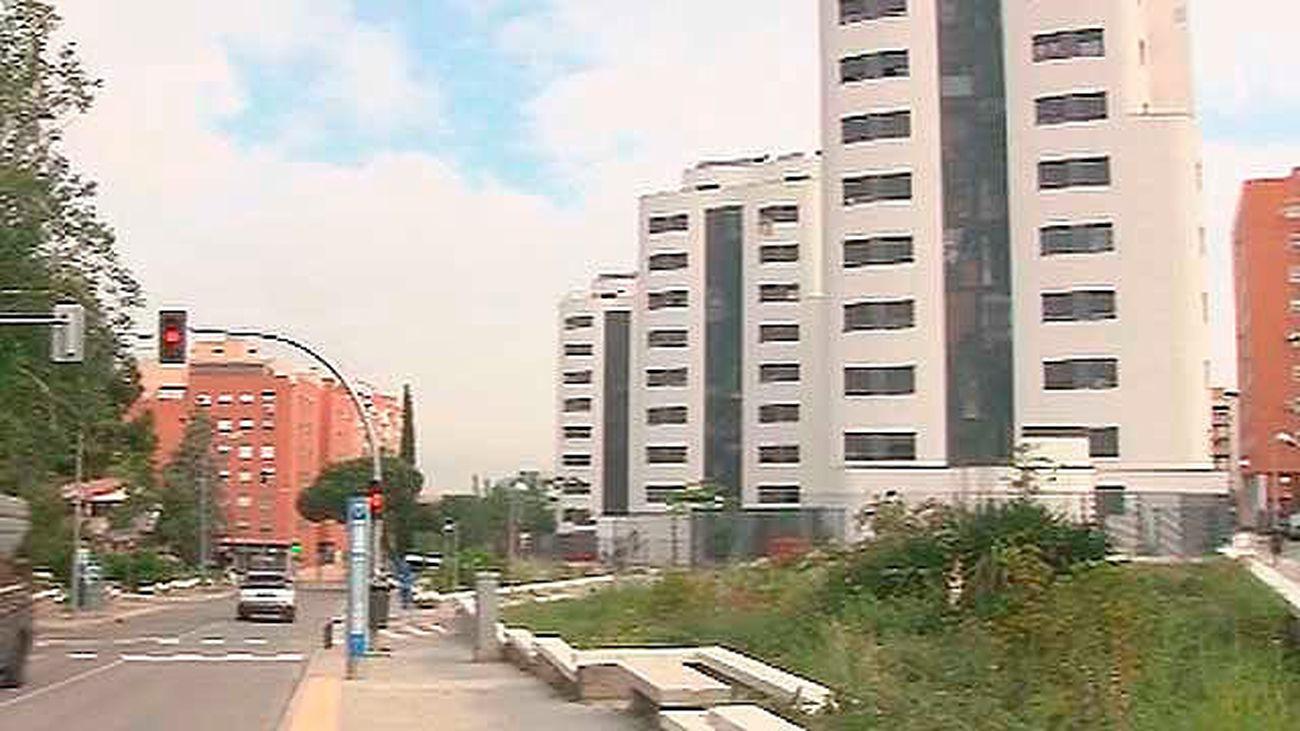La construcción de las 137 nuevas viviendas  de la UVA de Hortaleza concluirá a finales de 2019