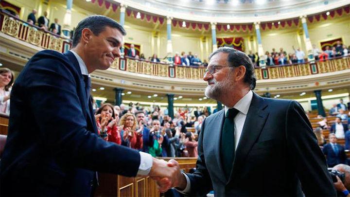 Pedro Sánchez gana la moción de censura y ya es presidente del Gobierno