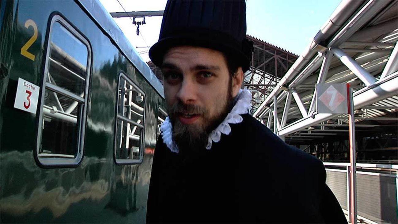 El tren de Felipe II, un viaje a otra época