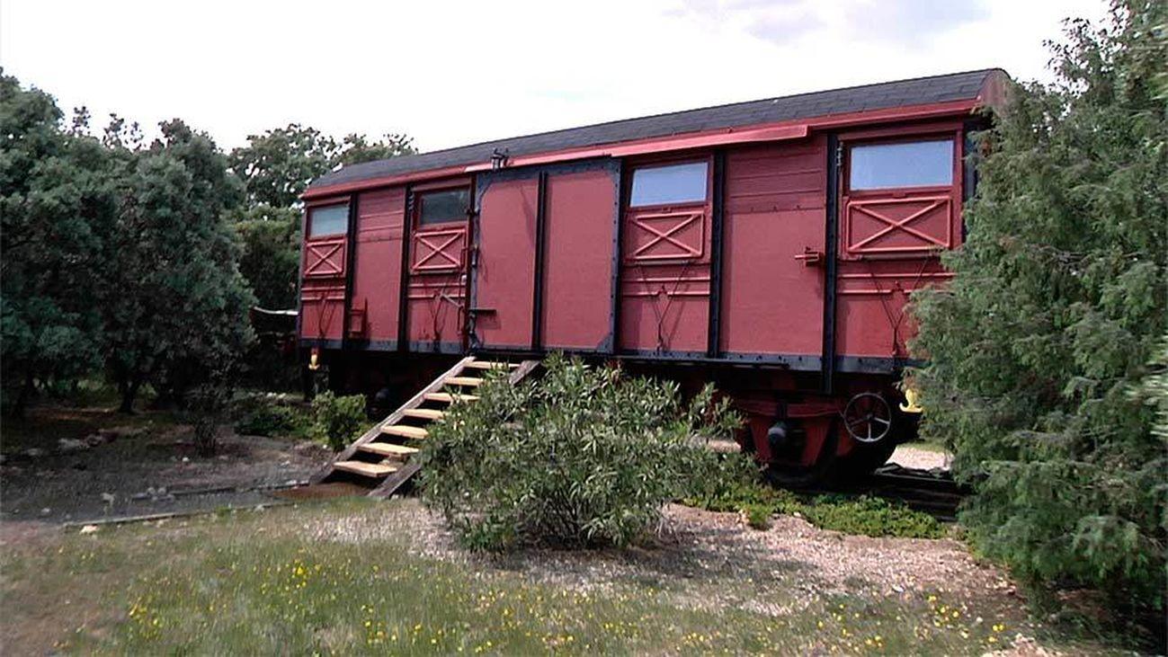 Un vagón, una original vivienda por 45.000 euros