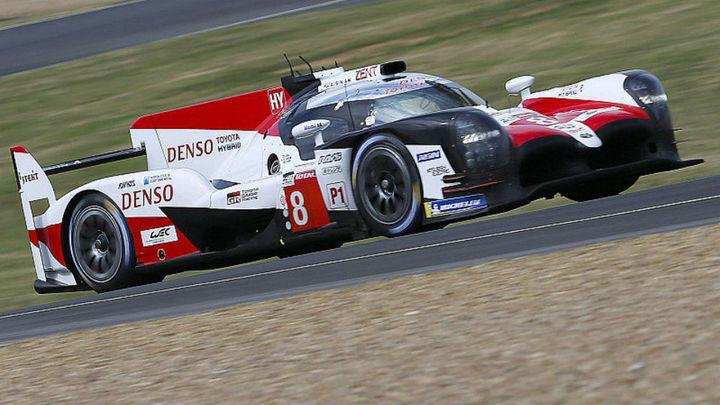 Alonso, mejor tiempo en la jornada de pruebas en Le Mans