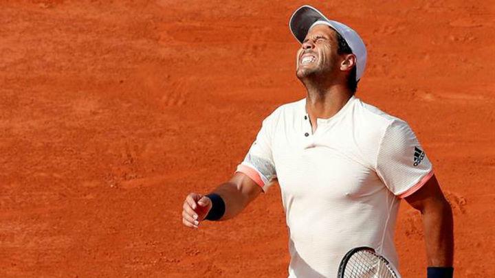 Roland Garros: Verdasco, sin opción ante Djokovic