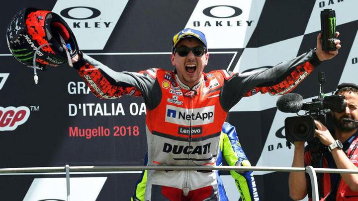 GP Italia: Triunfos de Lorenzo, Oliveira y Jorge Martín