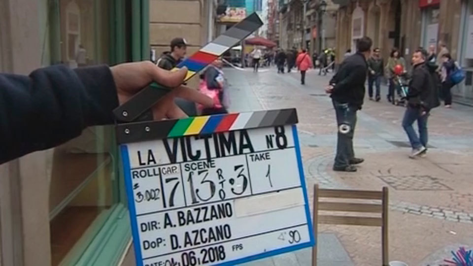 Comienza el rodaje de 'La víctima número ocho' coproducida por Telemadrid