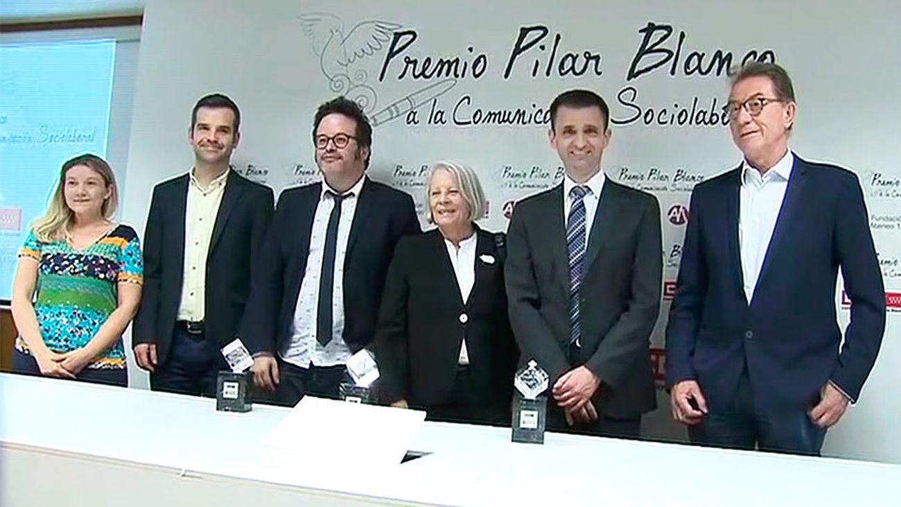 Telemadrid, premio Pilar Blanco a la Comunicación por la pluralidad y servicio público