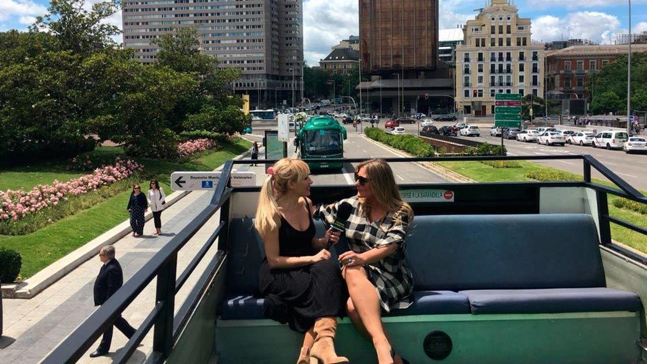 """Amaia Montero se sube a nuestro autobús para presentarnos """"Nacidos para creer"""""""