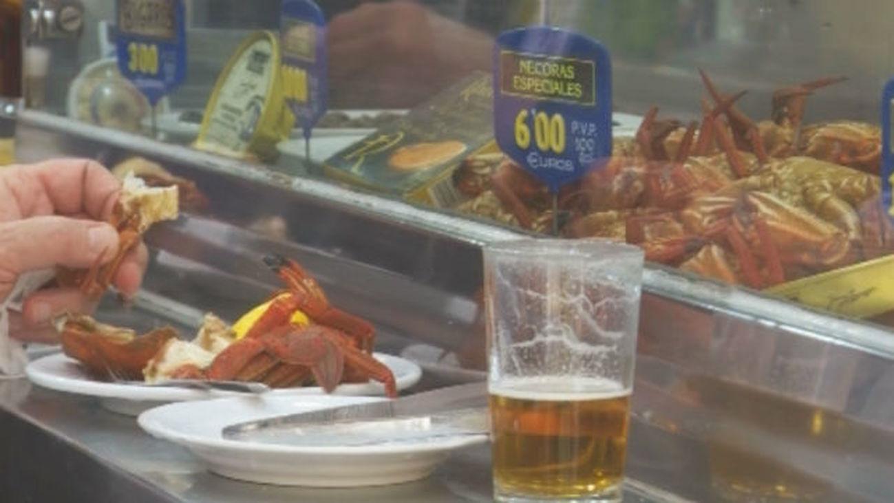 Una de las últimas cervecerías marisquerías