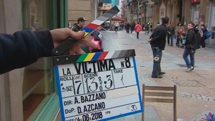 Arranca en Bilbao el rodaje de 'La víctima número ocho', nueva serie de Telemadrid