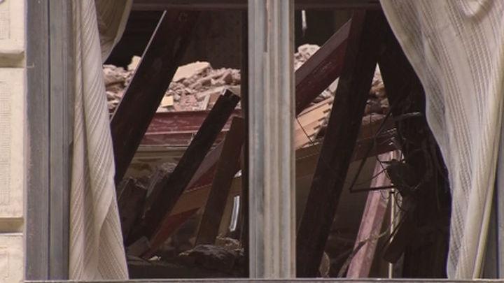 El Samur Social aloja a cuatro personas evacuadas por el derrumbe de Chamberí