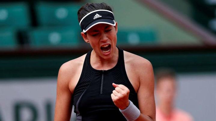 Roland Garros: Muguruza, a semifinales tras barrer a Sharapova