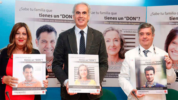 La Comunidad busca nuevos donantes de órganos con la campaña '#YoTengoUnDon'