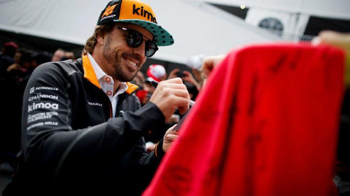 """Alonso: """"Los 300 Grandes Premios hacen ilusión pero no cambian nada"""""""