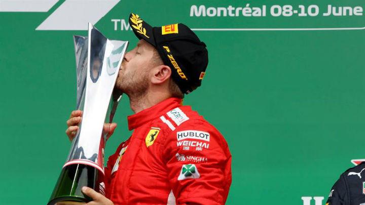 GP Canadá: Vettel gana, Sainz 8º y Alonso abandona
