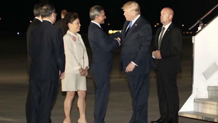 Trump y Kim llegan a Singapur dos días antes de su histórica cumbre