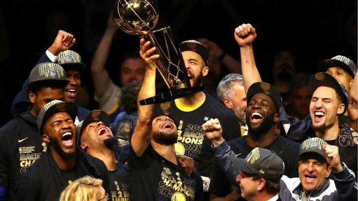 85-108 (0-4). Warriors, campeones de la NBA
