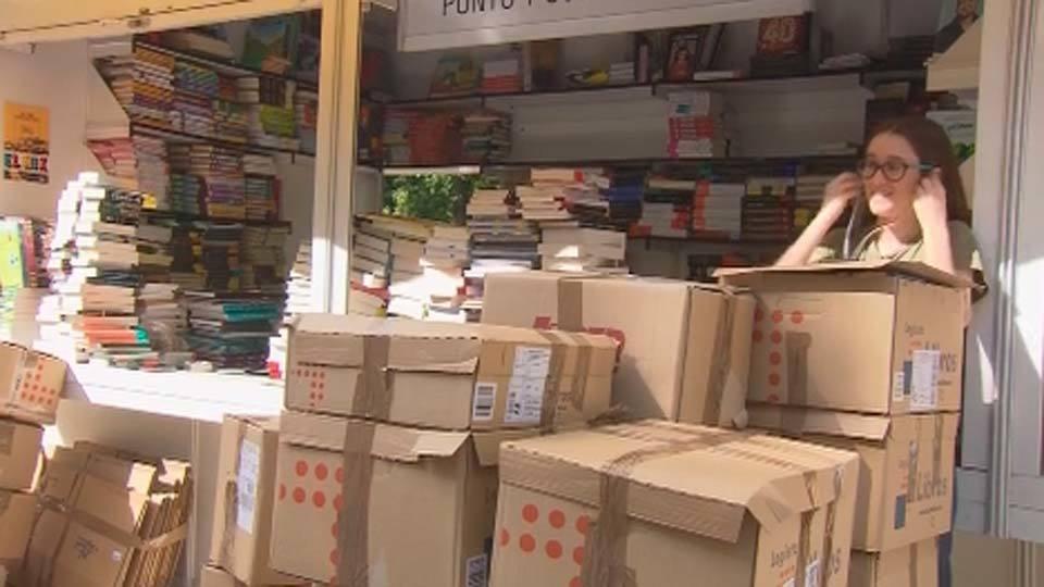 Las ventas en la Feria del Libro caen un 7 por ciento por la lluvia