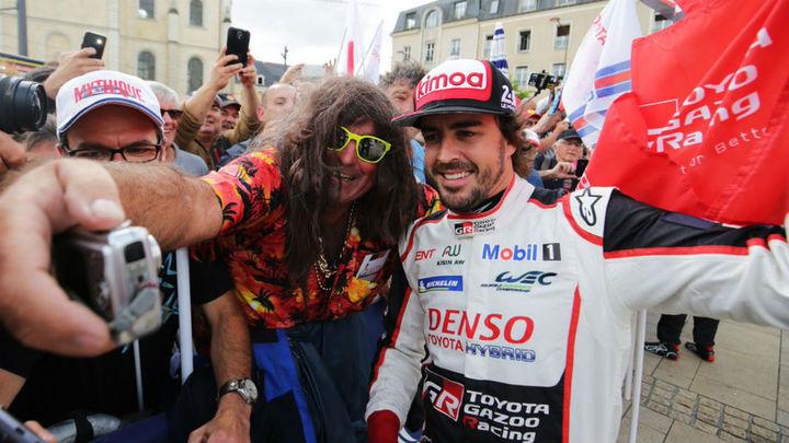 """Alonso: """"Voy a tratar de disfrutar cada minuto de las 24 Horas de Le Mans"""""""