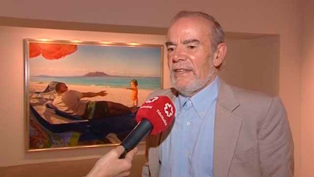 El pintor Eduardo Naranjo