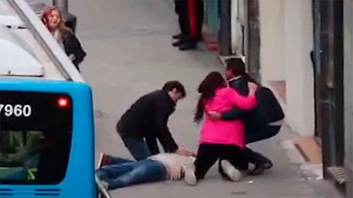 La mujer del asesinado a tiros en Chamberí denuncia que los autores persiguen al padre del fallecido