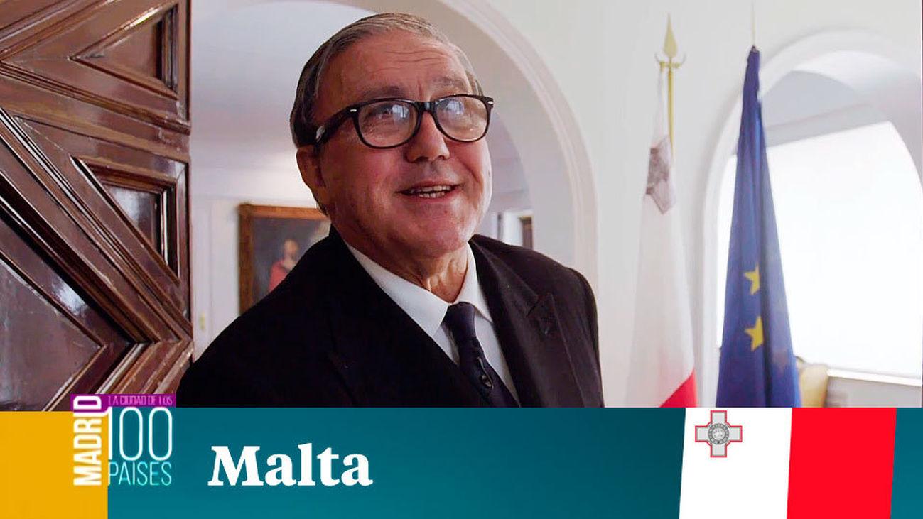 Madrid ciudad de 100 países: Malta