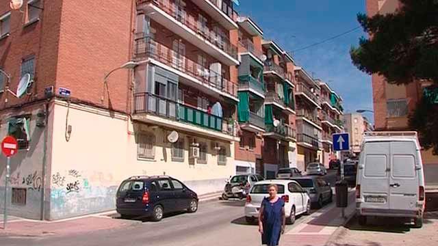 Imagen de un barrio del sur de Madrid