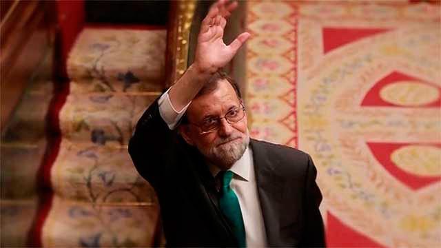 La despedida de Rajoy del Congreso delos Diputados