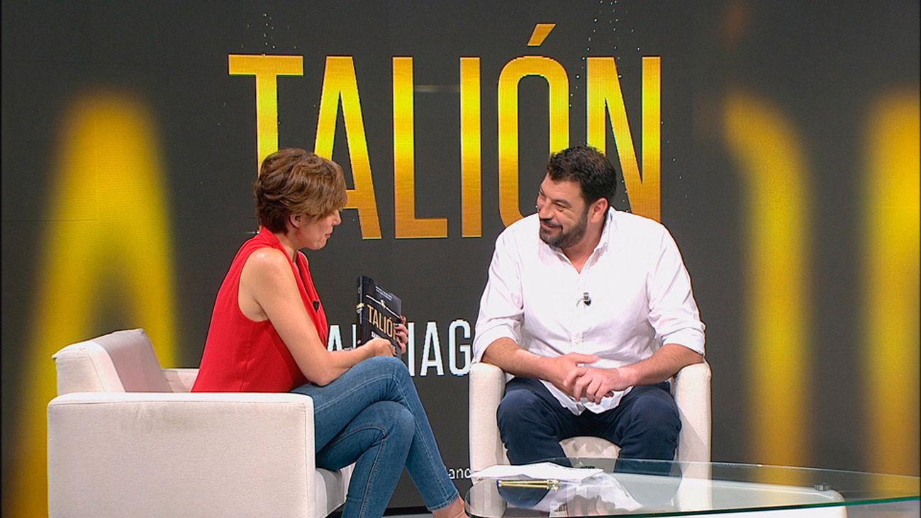 Santiago Díaz presenta Talión, su primer libro