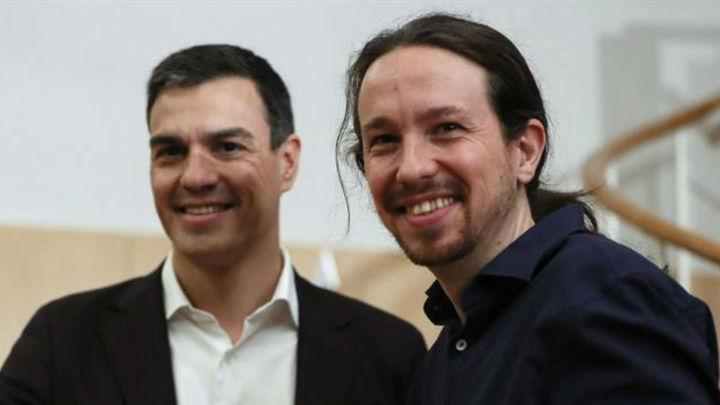 Sánchez e Iglesias presentan este lunes su acuerdo programático de Gobierno