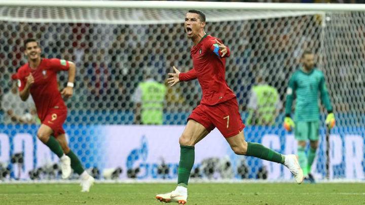 3-3. Cristiano y De Gea frustran a España