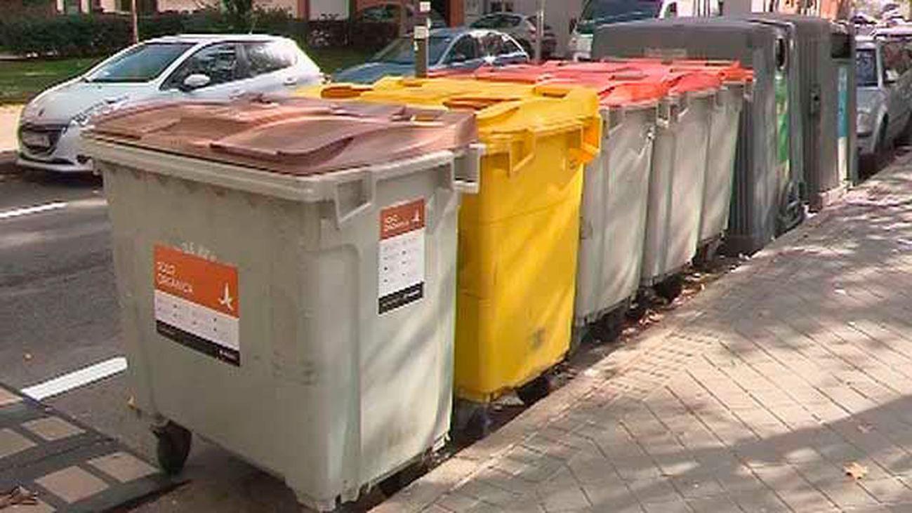 Contenedores para al recogida selectiva de residuos