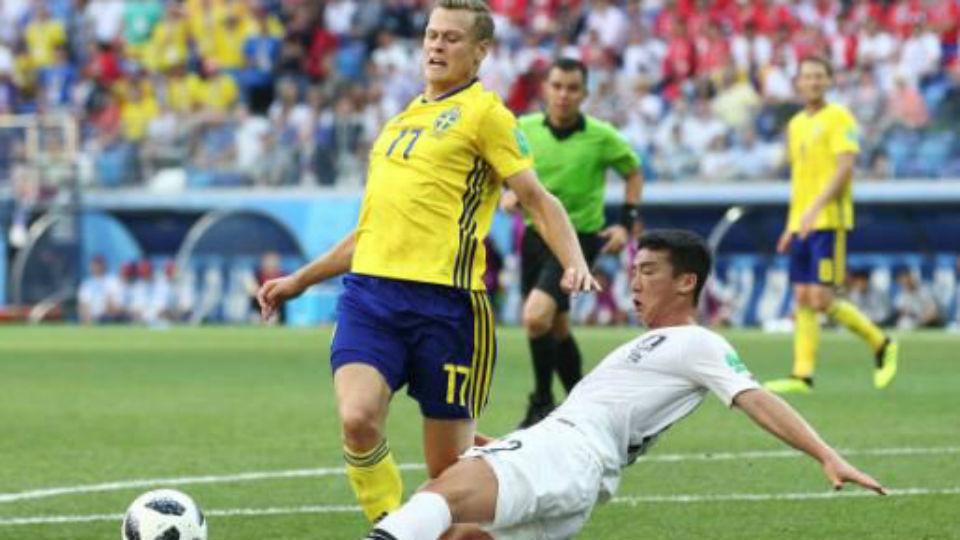 Suecia - Corea del Sur