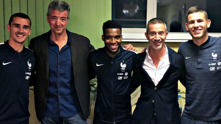 Griezmann renueva hasta 2023, Lucas hasta 2024 y Lemar firma su contrato