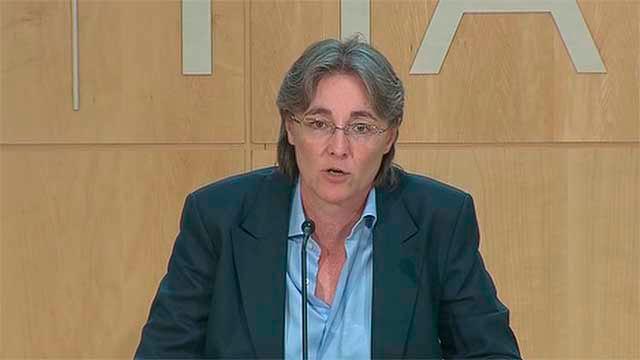 Marta  Higueras, primera teniente de alcalde de Madrid