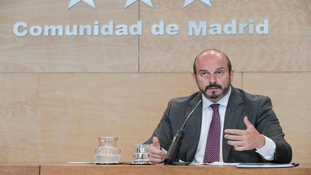 Pedro Rollán, vicepresidente de la Comunidad de Madrid