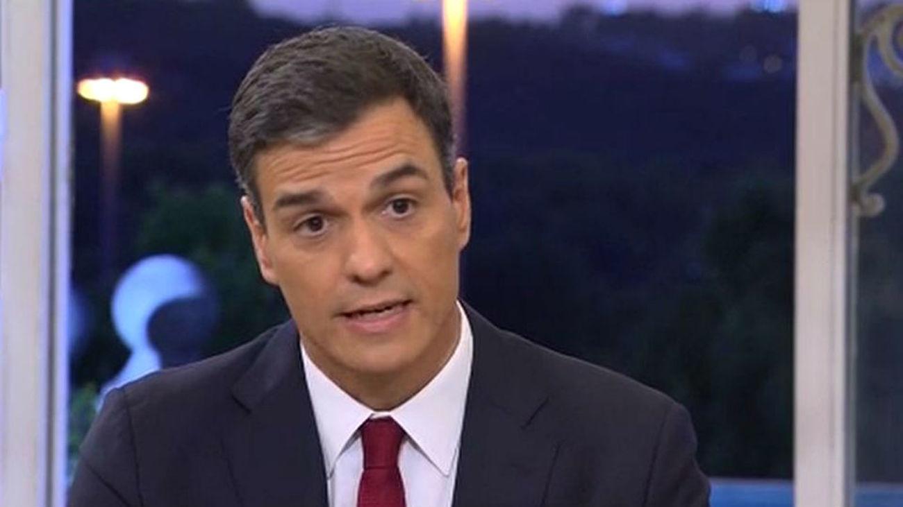 Pedro Sánchez avanza que su aspiración es agotar la legislatura