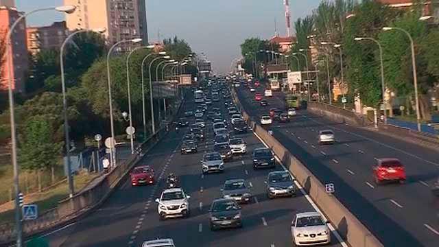 El acceso a Madrid por la A-5 y el Paseo de Extremadura