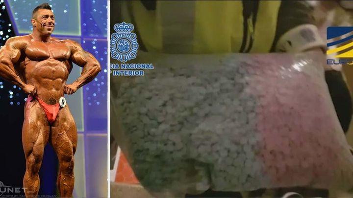 La policía interviene cinco millones de dosis de anabolizantes