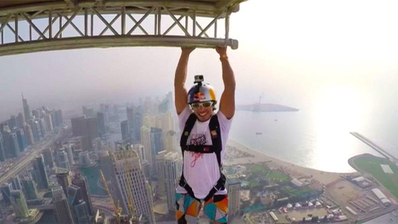 Caída libre en Dubai